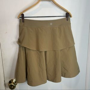Athleta whatever skorts skirt with build in shorts